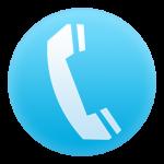 Blue Phone Circle